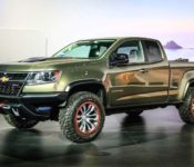 2020 Chevrolet Colorado Interior King Gmc Brand Mileage Zr2