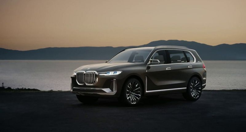 Bmw X7 Coupe Of Driver Cars White Spy