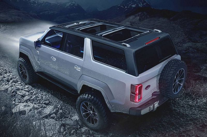 2021 Ford Bronco And Ranger Car Driver Build Images
