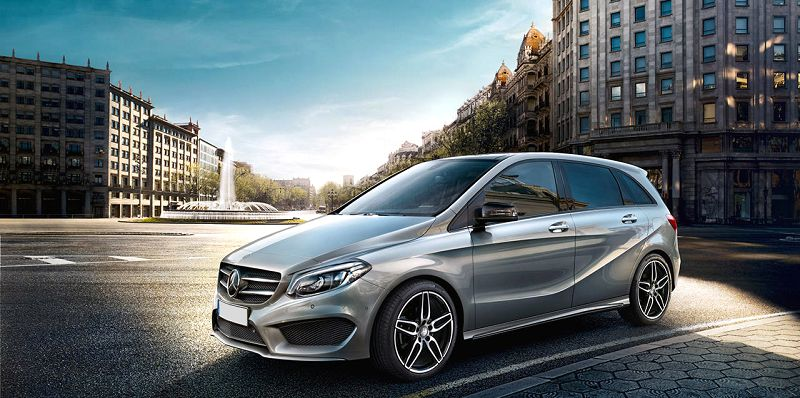2019 Mercedes B Class Electric Review Electric Navigation