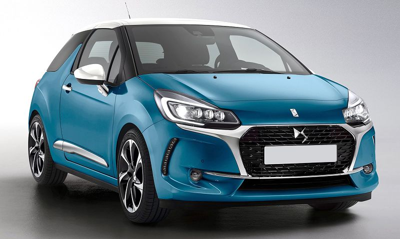 2019 Citroen Ds3 Spare Wheel Sat Nav Dsport Plus