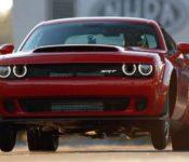 2019 Dodge Challenger Demon Horsepower Price Specs