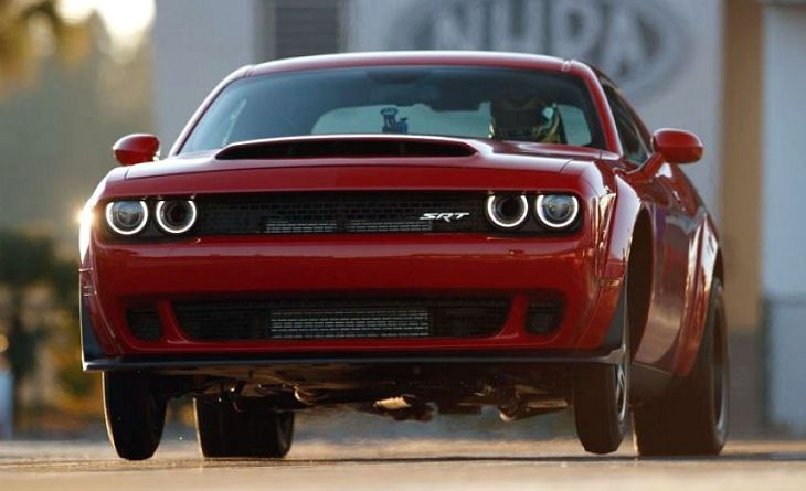 2019 Dodge Challenger Demon Horsepower Price Specs