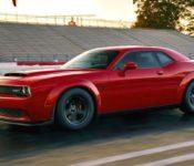 2019 Dodge Challenger Demon Msrp Engine Interior