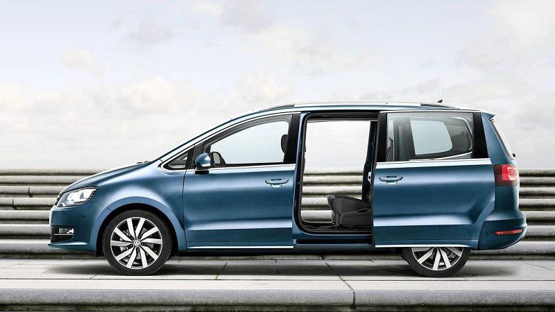 2019 Volkswagen Sharan Occasion Rental Roof Bars