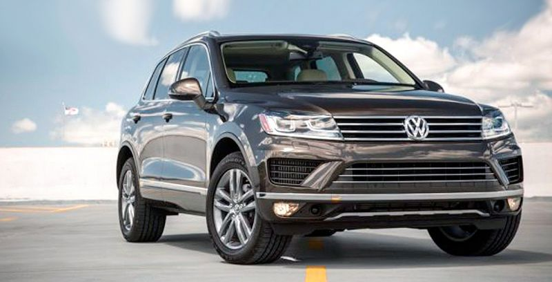 2019 Volkswagen Touareg Wolfsburg Edition V6 Sport With Technology