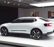 2019 Volvo Electric Car Commitment Concept Battery