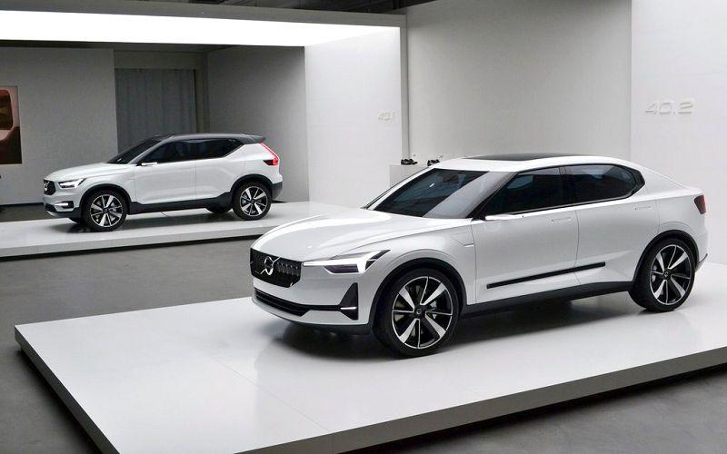 2019 Volvo Electric Car Strategy Statement Range