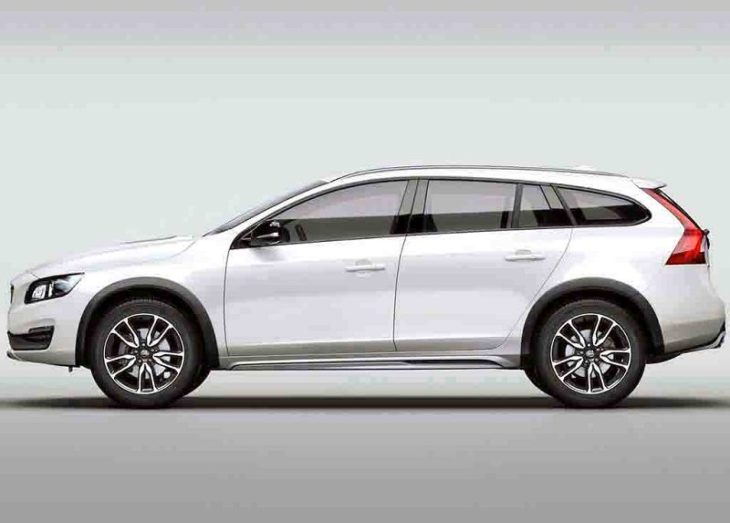 2019 Volvo V60 Cross Country T5 Awd Wagon Dimensions