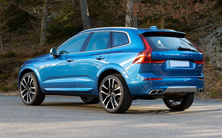 2019 Volvo Xc60 Manual Overall Nhtsa Safety Rating