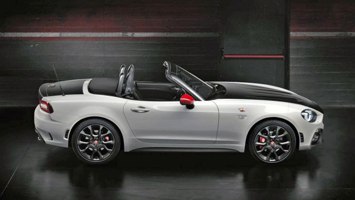 2019 abarth 124 spider price specs usata. Black Bedroom Furniture Sets. Home Design Ideas