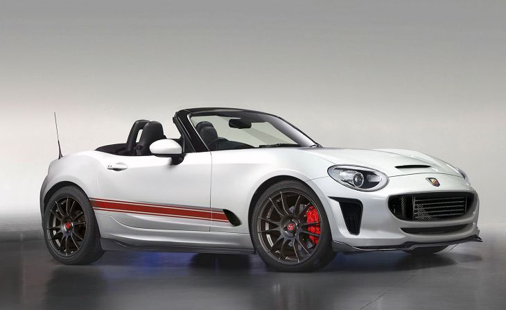 2019 Abarth 124 Spider Tuning Sport Top Speed