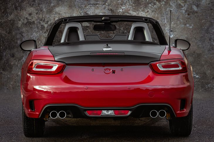 2019 Abarth 124 Spider Used The Test