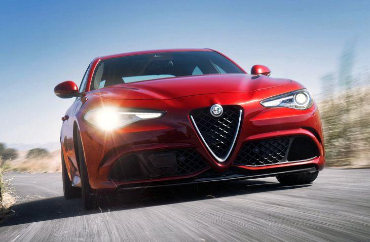 2019 Alfa Romeo Giulia Ti Sedan Suv Sport