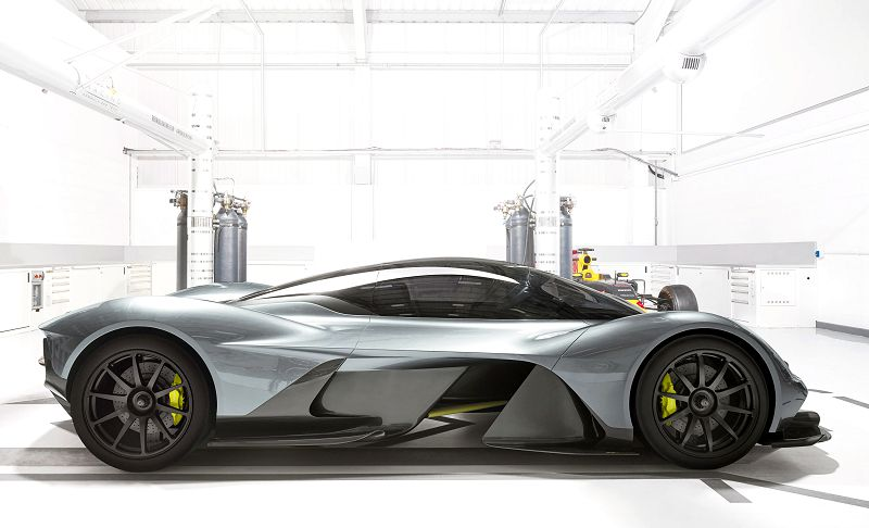 2019 Aston Martin Valkyrie Adrian Newey Am Rb 001 Downforce