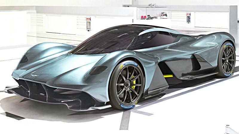 2019 Aston Martin Valkyrie Engine Exhaust Engine Specs