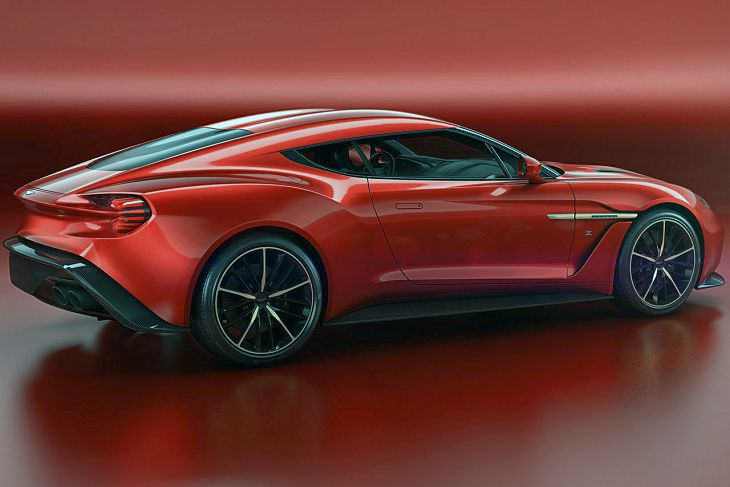 2019 Aston Martin Vanquish Zagato Shooting Brake Roadster Interior