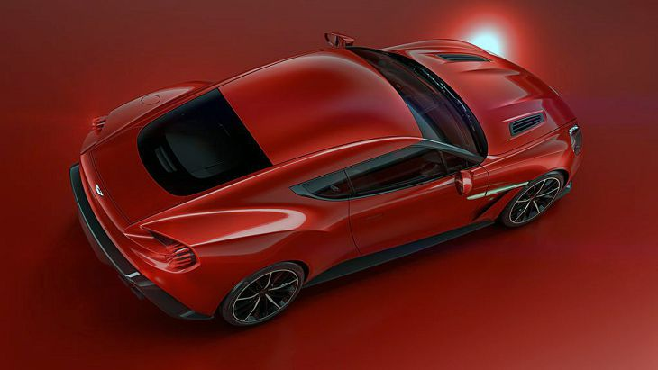 2019 Aston Martin Vanquish Zagato Speedster Volante For Sale