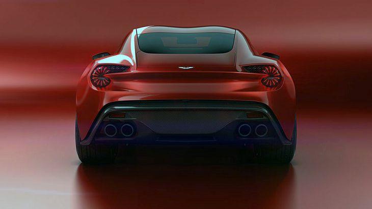 2019 Aston Martin Vanquish Zagato Vantage Price Black Specs