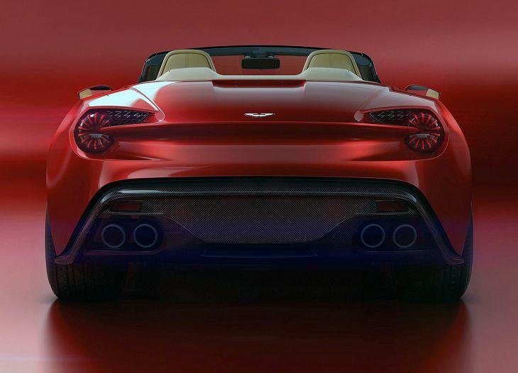 2019 Aston Martin Zagato Vanquish Roadster Sound 2016