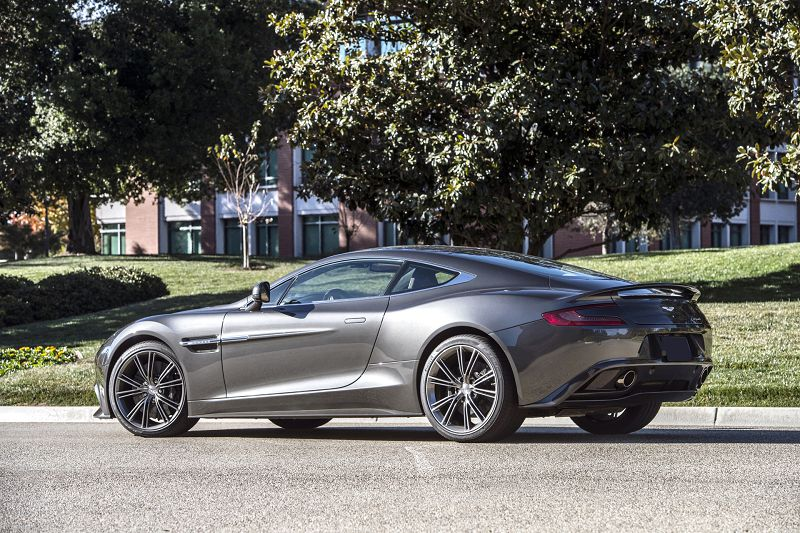 2019 Aston Martin Vantage New Review Tail Lights