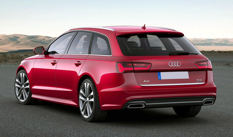 2019 Audi A6 Avant Review Roof Bars Box
