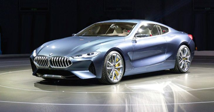 2019 Bmw Serie 8 A Vendre Concept Coupe