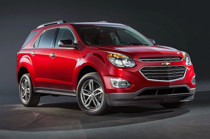 2019 Chevrolet Equinox Manual Models Length