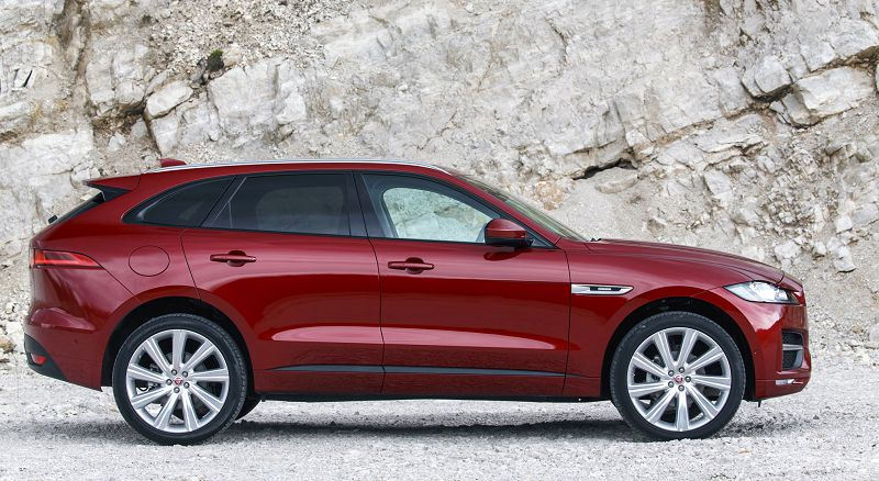 2019 Jaguar F Pace S White 2018 Review Model