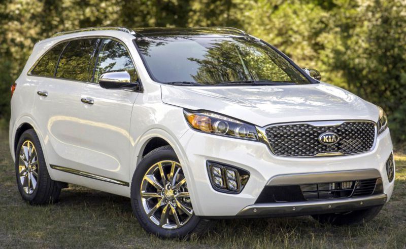 2019 Kia Sorento Sx Limited V6 Spy Shots