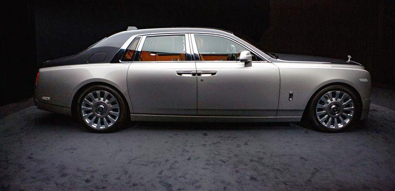 2019 Rolls Royce Phantom Interior Vi Rental