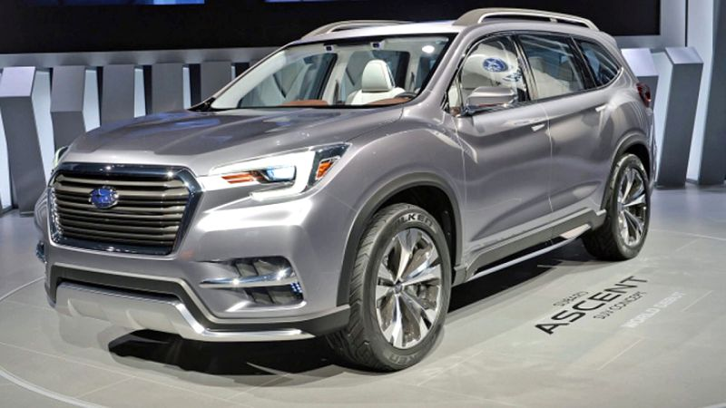 2019 Subaru Ascent Pictures Release Date New York Auto Show