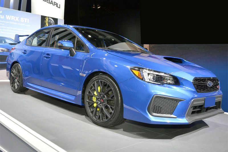 2019 Subaru Wrx Recaro Seats Rims Premium Performance Package