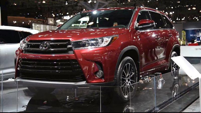 2019 Toyota Highlander Black Canada Cost - spirotours.com