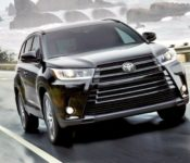 2019 Toyota Highlander Updates Vs 2017 Xle