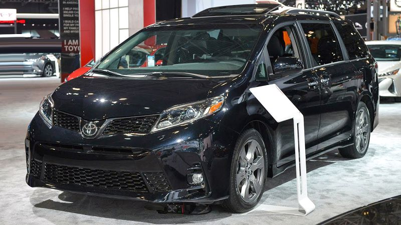 2019 Toyota Sienna Concept Dimensions Engine