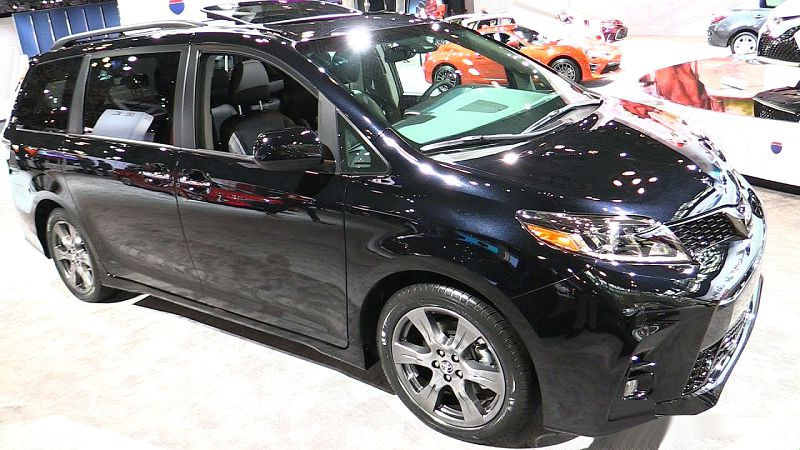 2019 toyota sienna for sale minivan hybrid release date. Black Bedroom Furniture Sets. Home Design Ideas