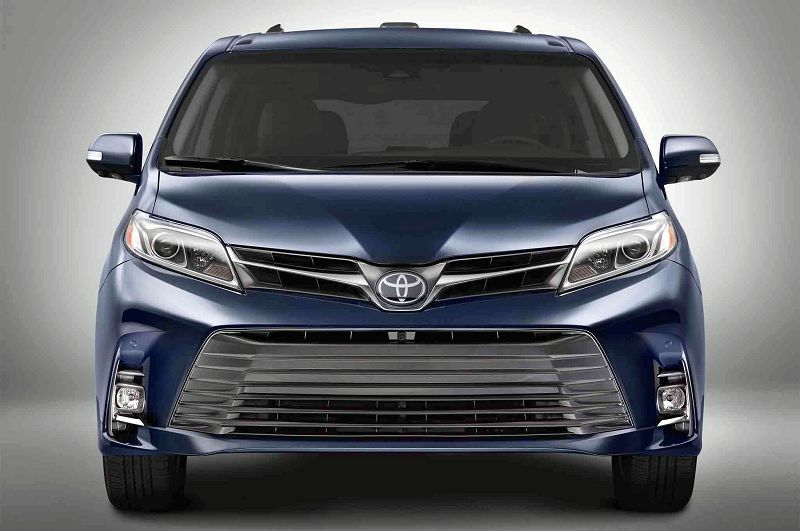 2019 Toyota Sienna Spy Shots Review Redesign