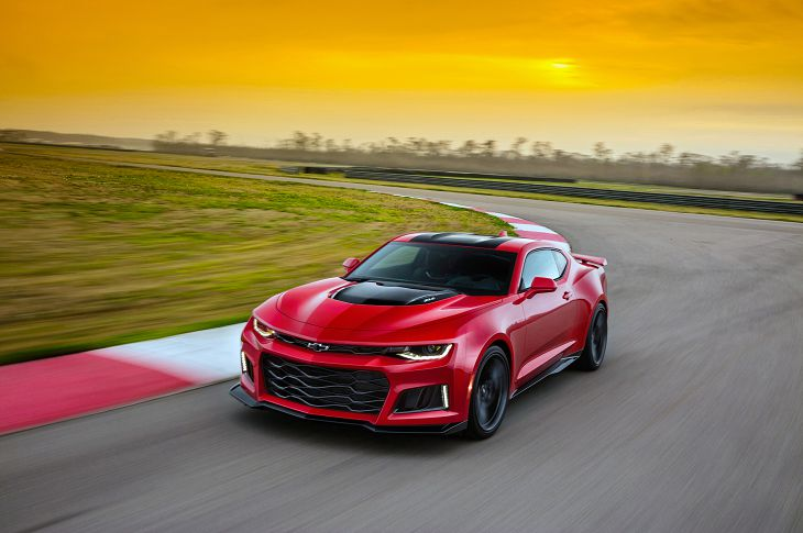 2019 Chevrolet Camaro Zl1 Specs Red Right Hand Drive