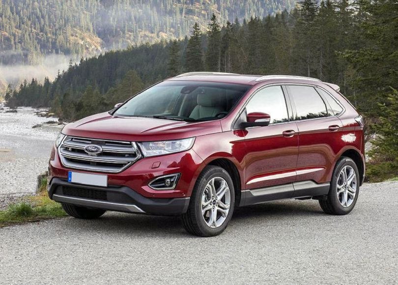 2020 Ford Edge Pictures Platinum Photos
