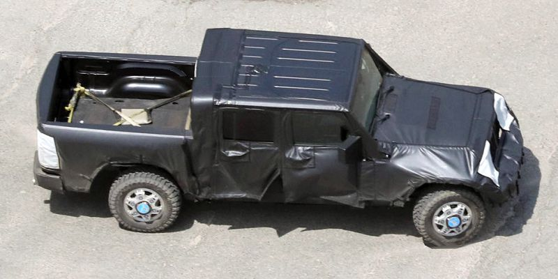 2019 Jeep Wrangler Pickup Truck Conversion Unlimited Truck