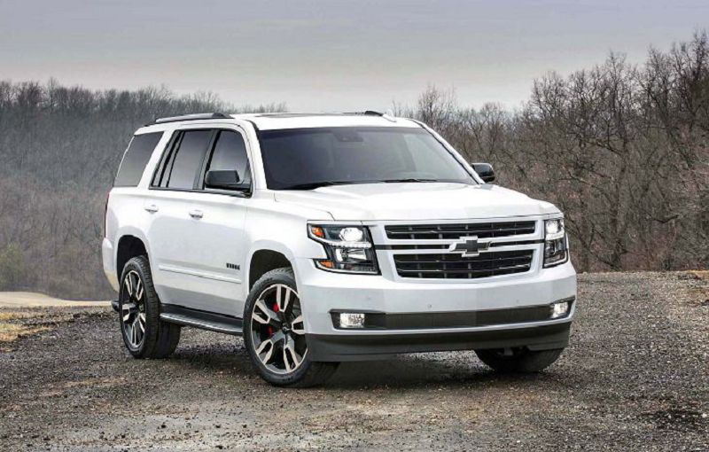 2019 Chevy Tahoe Rst Specs Colors Review Black Edition
