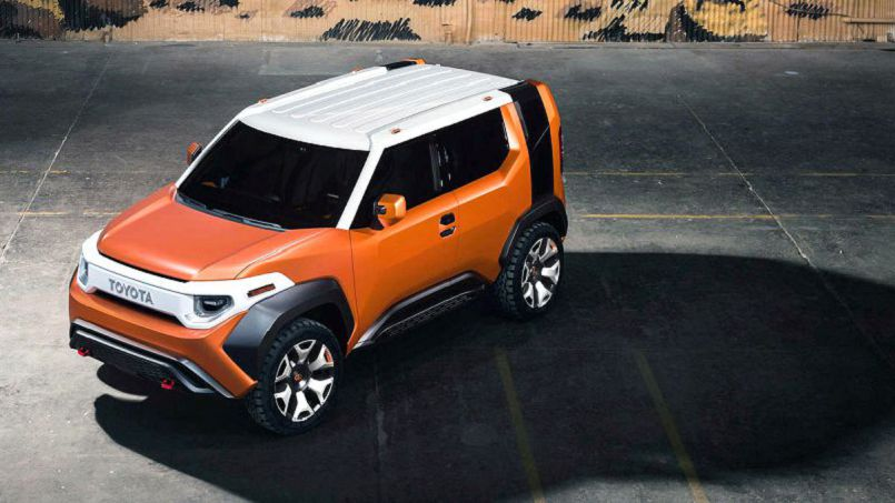 2019 Toyota Ft 4x Engine Concept Is A Modern 4x4 Toolbox