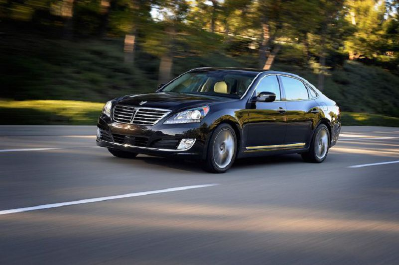 2002 Hyundai Equus Review Used Ultimate Signature