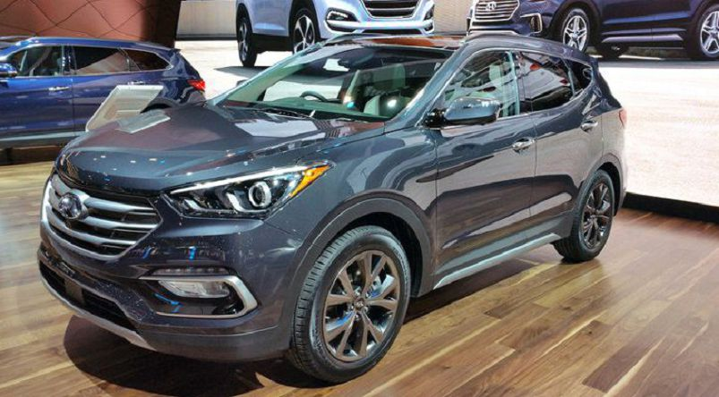2019 hyundai santa fe used gas mileage mpg 2016 sport. Black Bedroom Furniture Sets. Home Design Ideas
