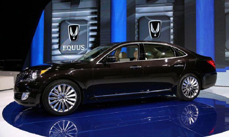 Hyundai Equus 2013 Review Suspension Oil Change