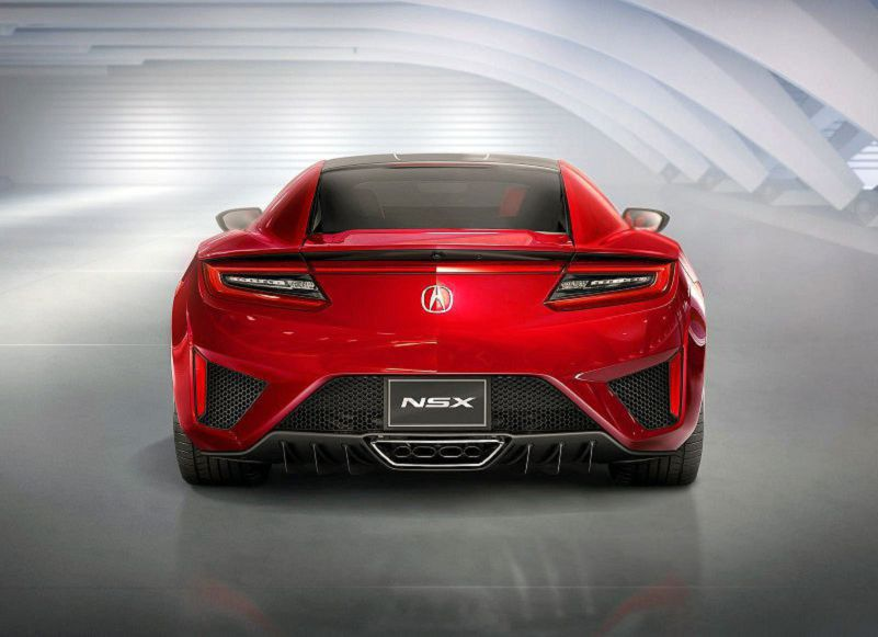 2019 Acura Nsx Rims Red Photos Quarter Mile