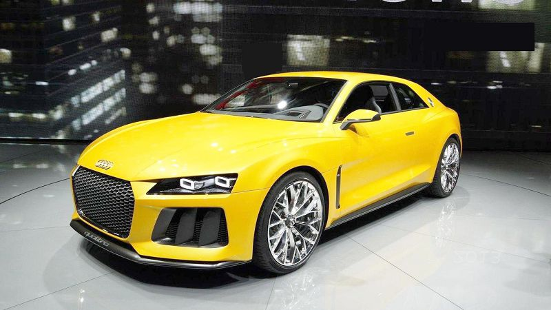 Audi Quattro Concept A4 Tt E Tron Wagon