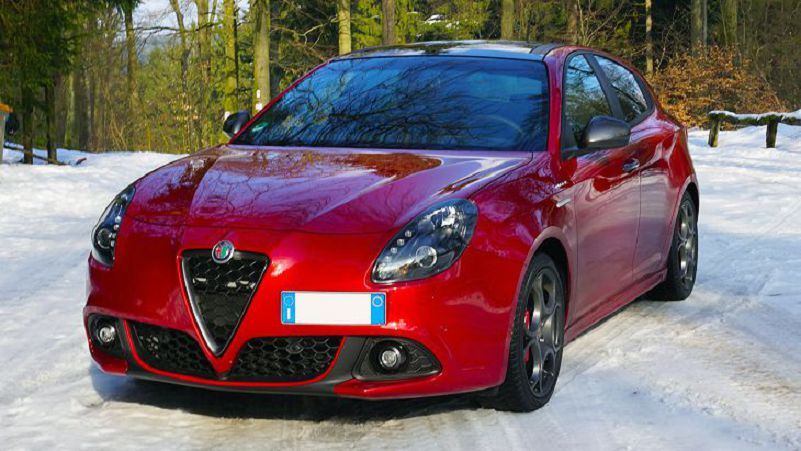 Nuova Giulietta 2019 Wing Mirror Xenon Headlights Yellow