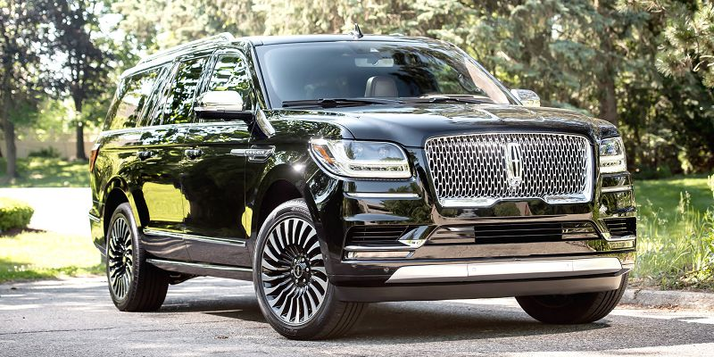 2018 Lincoln Navigator Blacked Out Concept Custom Colors